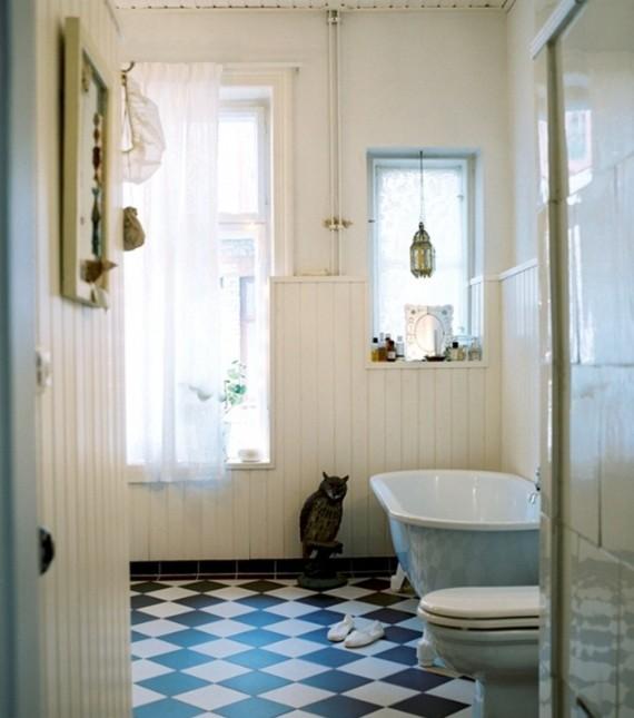Swedish-Home-Vintage-Bathroom-Designs-Ideas-570x645 16 Stunning Designs Of Vintage Bathroom Style