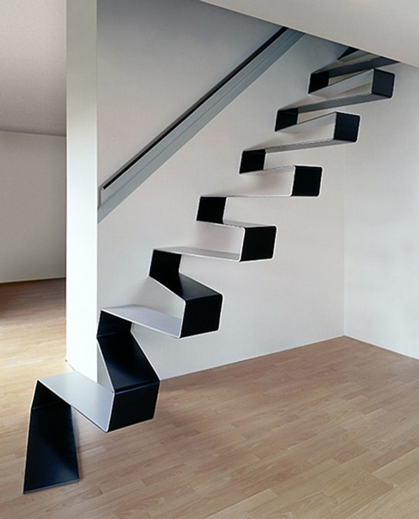Tread-Confidently-Floating-Staircase Turn Your Old Staircase into a Decorative Piece