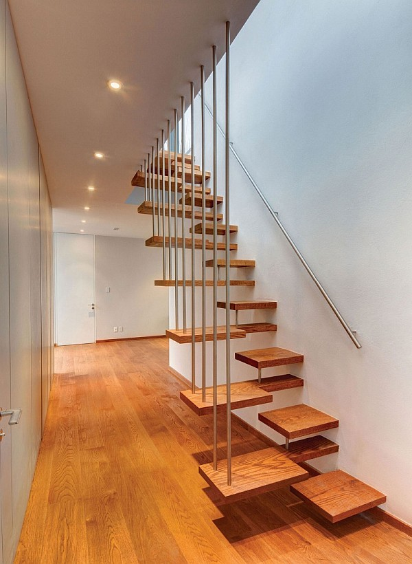 Unusual-Creative-Floating-Staircase Turn Your Old Staircase into a Decorative Piece