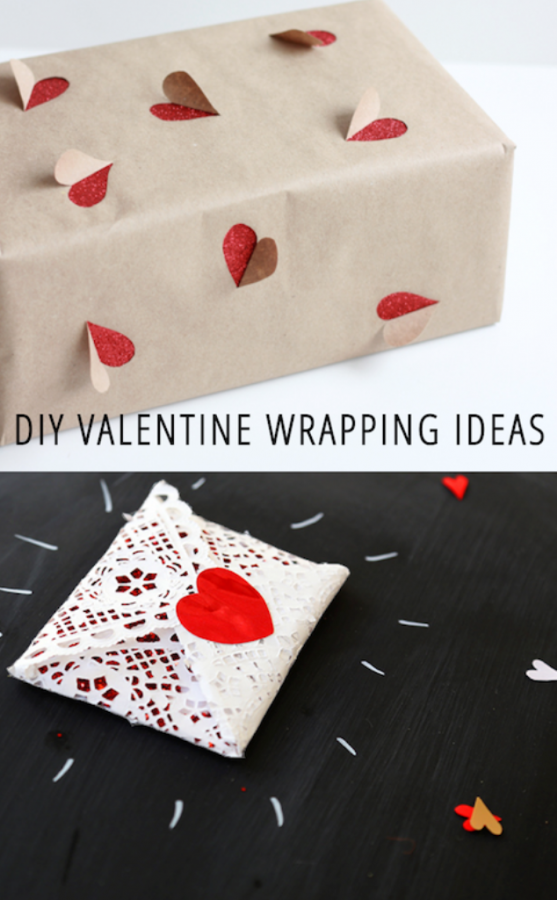 VALENTINE-WRAPPING 35 Creative and Simple Gift Wrapping Ideas