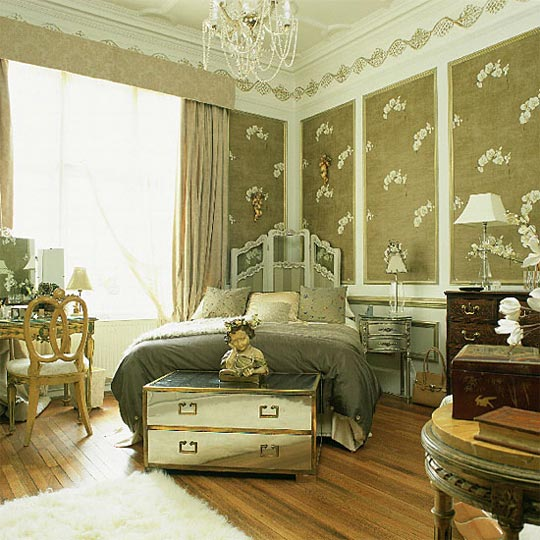 17 wonderful ideas for vintage bedroom style pouted for Bedroom designs vintage