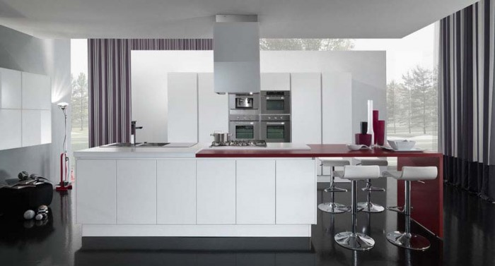 White-Luxury-Modern-Kitchen-Design-ideas 45 Elegant Cabinets For Remodeling Your Kitchen