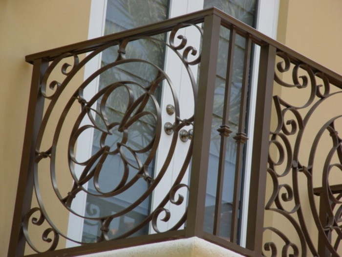 Wrought-Iron-Balcony-Railing 60+ Best Railings Designs for a Catchier Balcony