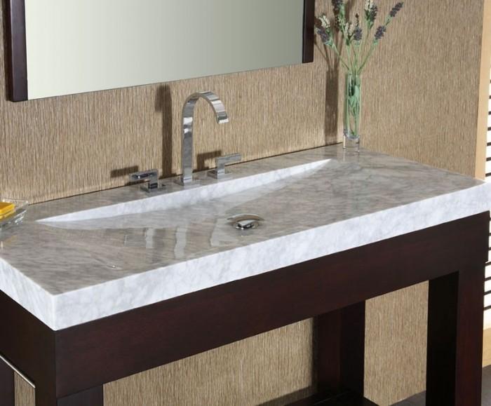 Xylem-Europa-48-Dark-Walnut-Modern-Bathroom-Sink 17 Modern Designs Of Bathroom Sinks