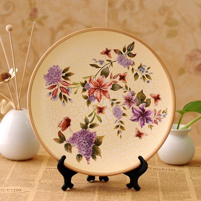 Yi-Qi-idyllic-country-style-hand-painted-ceramic-decorative-plate-home-improvement-decoration-YQ-1002_1 20 Wonderful Designs Of Ceramic Plates