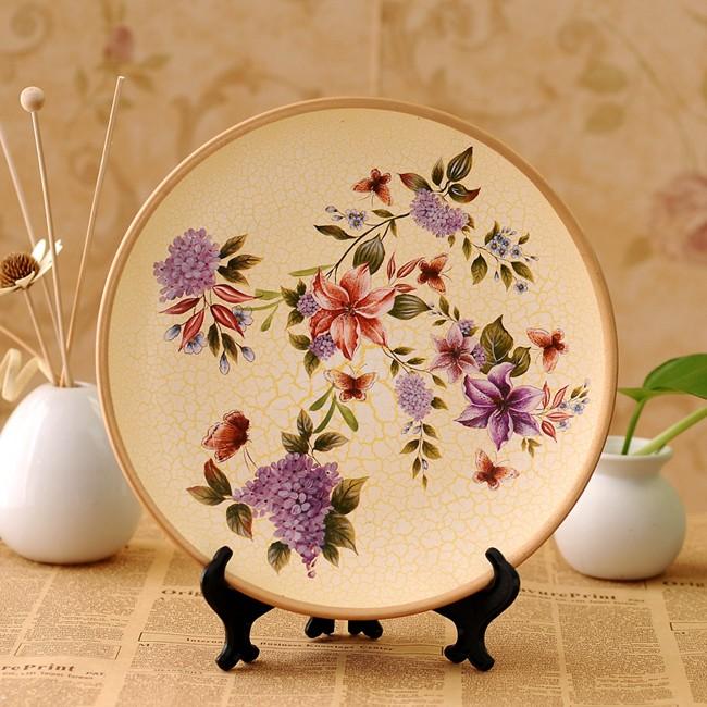 Yi-Qi-idyllic-country-style-hand-painted-ceramic-decorative-plate-home-improvement-decoration-YQ-1002_1 20 Wonderful Designs Of Ceramic Plates