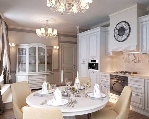 apartment-with-classic-style-interior Your Apartment Will Look Wonderful In The Classical Style