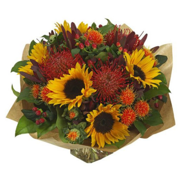 autumn-rush-hand-tied-bouquet-large 10 Autumn Gift Ideas for Inspiring You