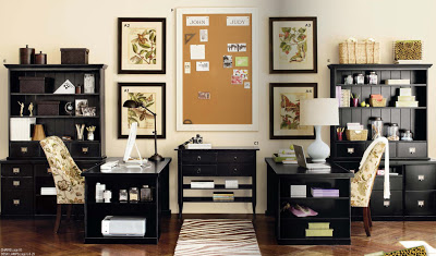 ballard_home_office_decorology Modern And Stylish Designs Of Home Offices