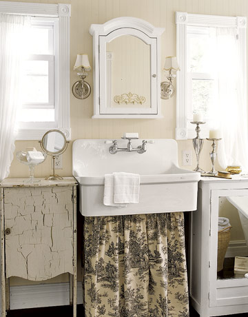 bathroom-toile-sink-skirt-htours0307-de 16 Stunning Designs Of Vintage Bathroom Style