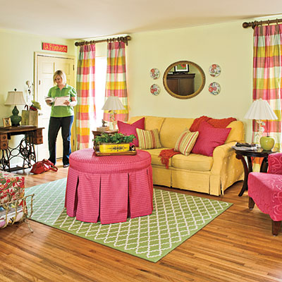 begin-with-color-after-l Get A Delight Interior By Applying Some Colorful Designs