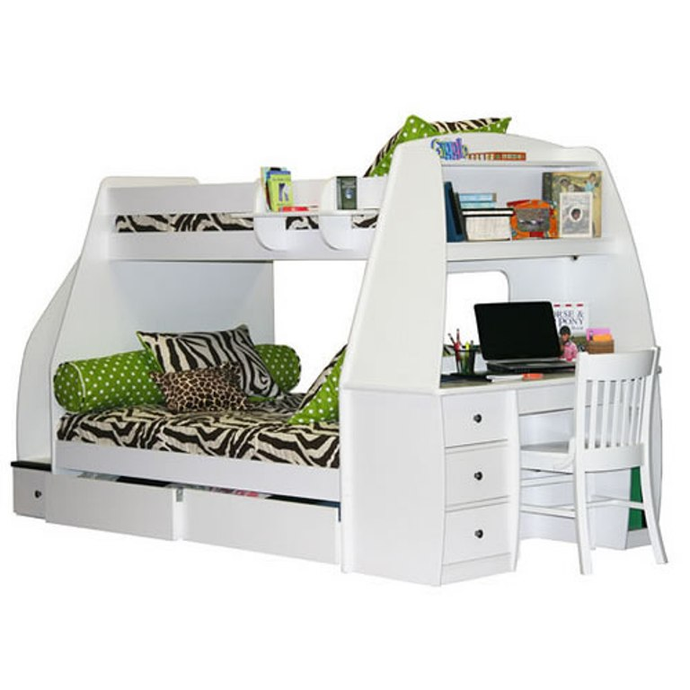 berg-enterprise-full-desk-02-800 Make Your Children's Bedroom Larger Using Bunk Beds