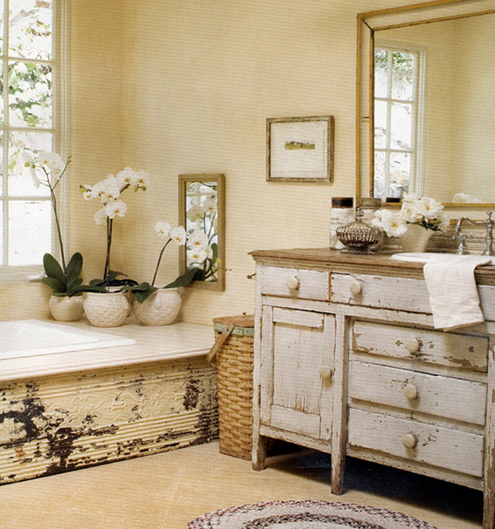 16 stunning designs of vintage bathroom style pouted for Bathroom looks ideas