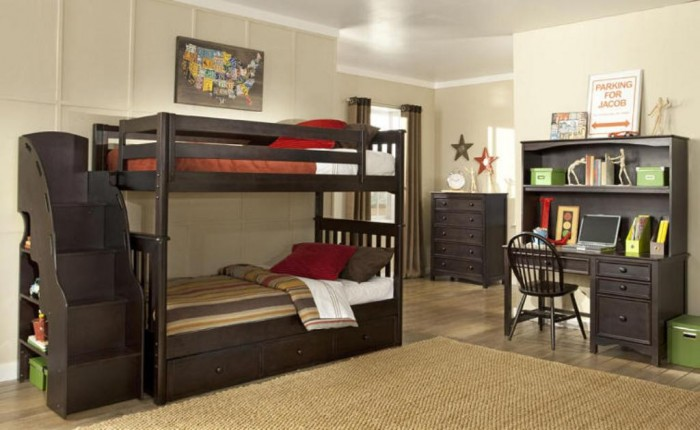 bhwils5 Make Your Children's Bedroom Larger Using Bunk Beds