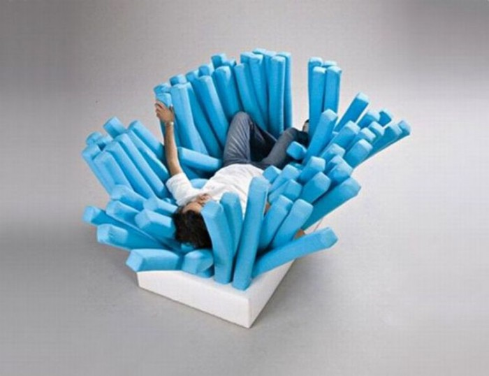 brush-sofa 50 Creative and Weird Sofas for Your Home