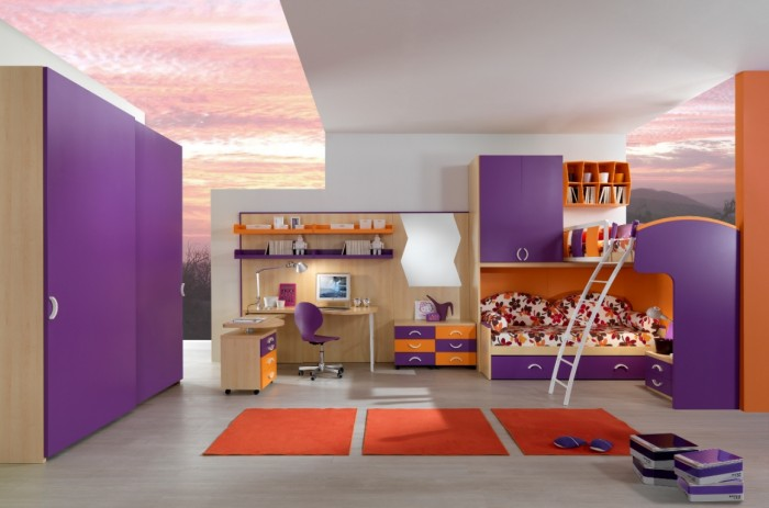 bunk-beds-for-kids Make Your Children's Bedroom Larger Using Bunk Beds