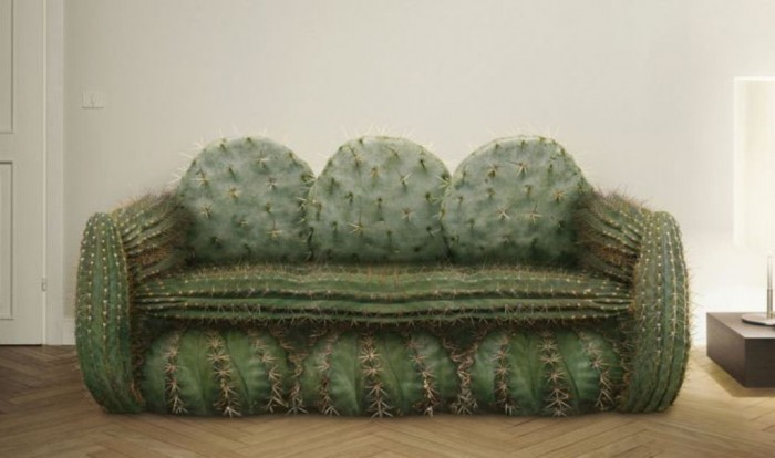 cactus-sofa-design1 50 Creative and Weird Sofas for Your Home