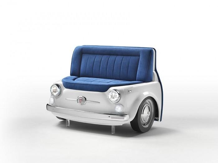 car-shaped-sofa 50 Creative and Weird Sofas for Your Home