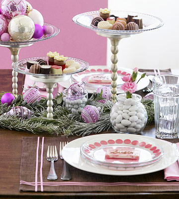christmas-table-decoration-ideas Tips With Ideas Of Decorations For Christmas Celebrations