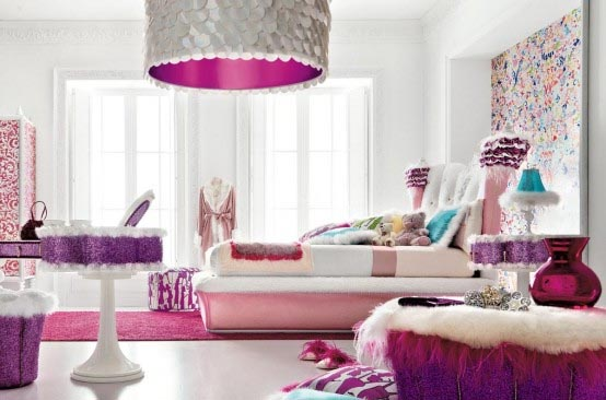 colorful-interior-design-for-kids-room Get A Delight Interior By Applying Some Colorful Designs
