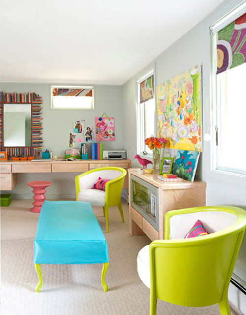 colorful-interior-ideas Get A Delight Interior By Applying Some Colorful Designs