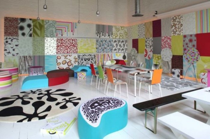 colorful-interior-room-design-02 Get A Delight Interior By Applying Some Colorful Designs