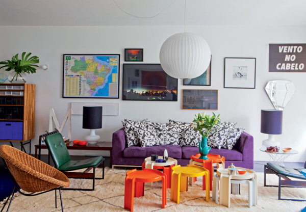colorful-living-room-inspirations-1 Get A Delight Interior By Applying Some Colorful Designs