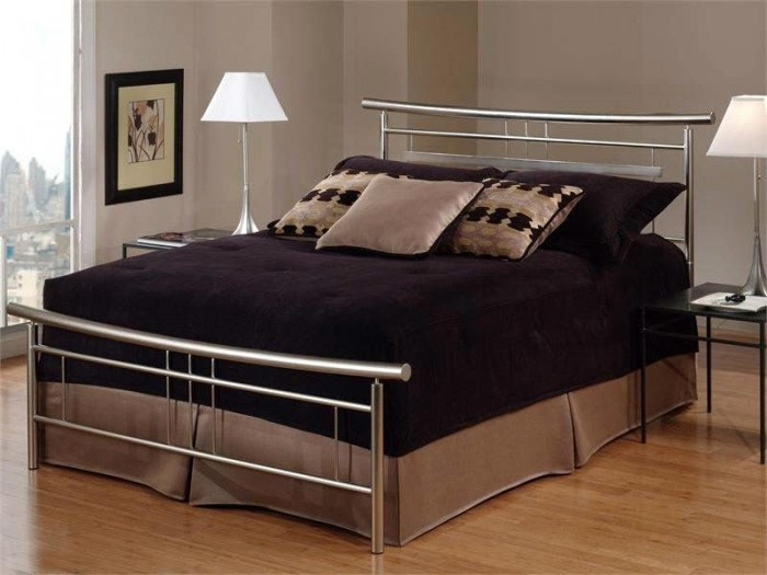 concise-and-sharp-bedroom-decoration-furniture-metal-bed-frame-ml Luxury Designs For Beds Made Of Metal