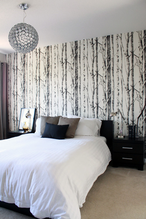 contemporary-bedroom Tips On Choosing Wallpaper For Your Bedroom