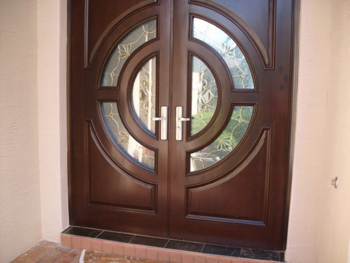 contemporary-front-doors. It Is Not Just a Front Door, It Is a Gate
