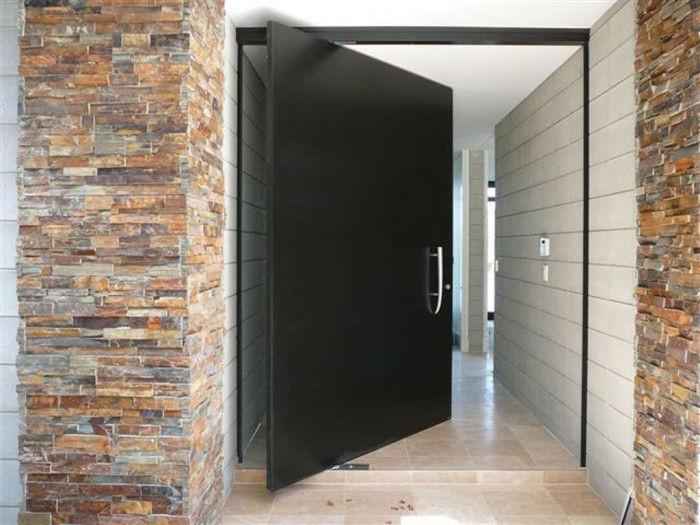 contemporary-front-doors It Is Not Just a Front Door, It Is a Gate