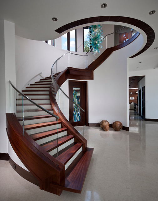 contemporary-staircase Make Your Home Look Like a Palace