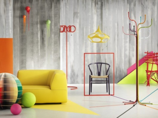 creative-colorfull-interior-design-yellow-530x396 Get A Delight Interior By Applying Some Colorful Designs