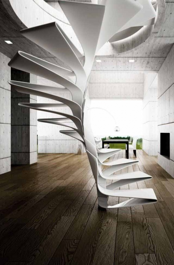 creative-designs-for-staircase______ Turn Your Old Staircase into a Decorative Piece