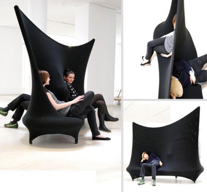 creative-sofa-wallfa 50 Creative and Weird Sofas for Your Home