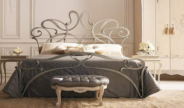 curved-iron-beds Luxury Designs For Beds Made Of Metal