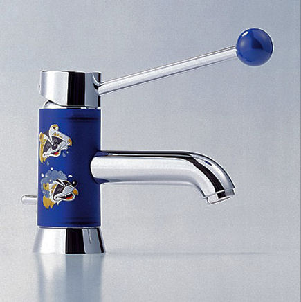dornbracht-meta-pur-meta-for-kids-bathroom-faucet 25 Ideas Of Modern Designs For Kids Bathroom