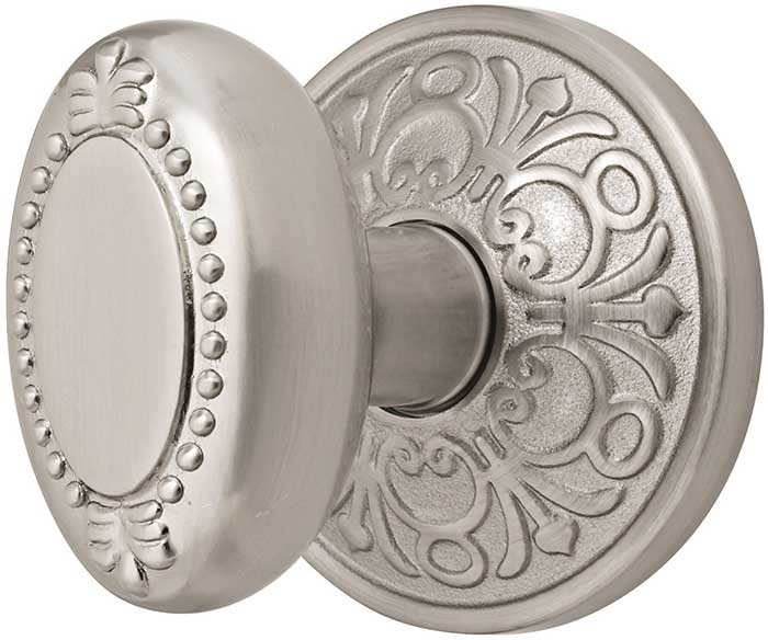 emtek-brass-beadedegg-door-knob-lg 4 Tips On How To Buy Your Door Knobs With Ideas