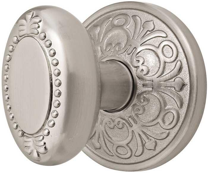 emtek-brass-beadedegg-door-knob-lg 4 Tips On How To Buy Your Door Knobs With Ideas