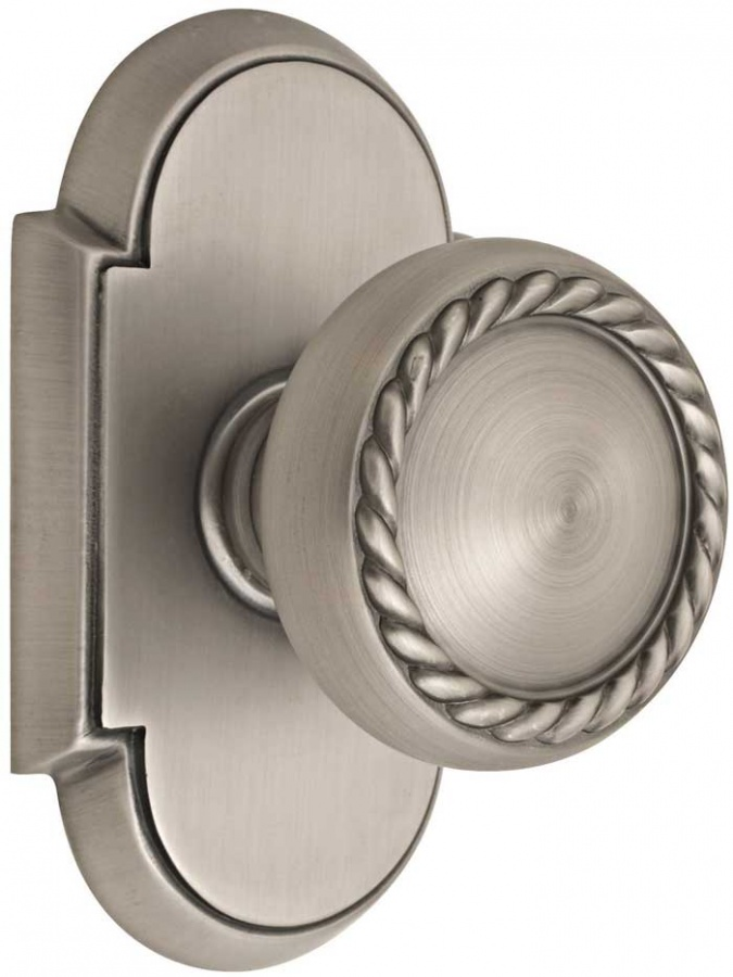 emtek-brass-rope-door-knob-lg 4 Tips On How To Buy Your Door Knobs With Ideas