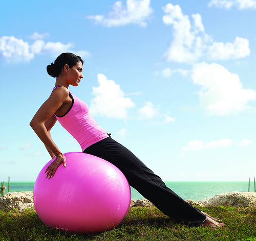 exercising1 6 Steps To Stay Naturally Beautiful