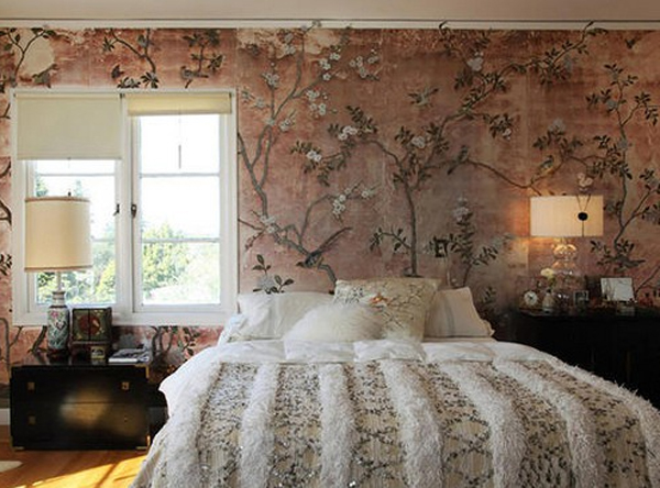floral-bedroom-ideas-with-wallpaper-theme Tips On Choosing Wallpaper For Your Bedroom