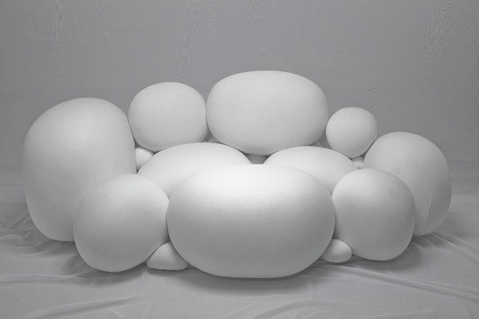 fluffy-marshmallow-sofa-design-1 50 Creative and Weird Sofas for Your Home