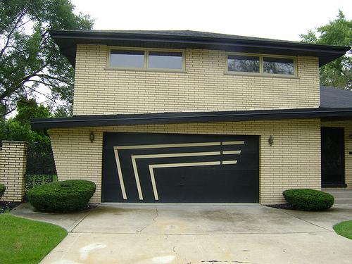 garage-door-with-modern-2 Modern Ideas And Designs For Garage Doors