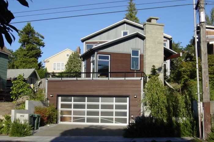 garage-door-with-modern-design Modern Ideas And Designs For Garage Doors