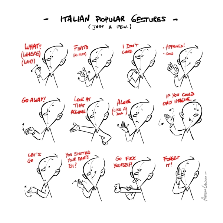 gestures Learn to Speak and Understand Italian Like a Native, in HALF the Time!