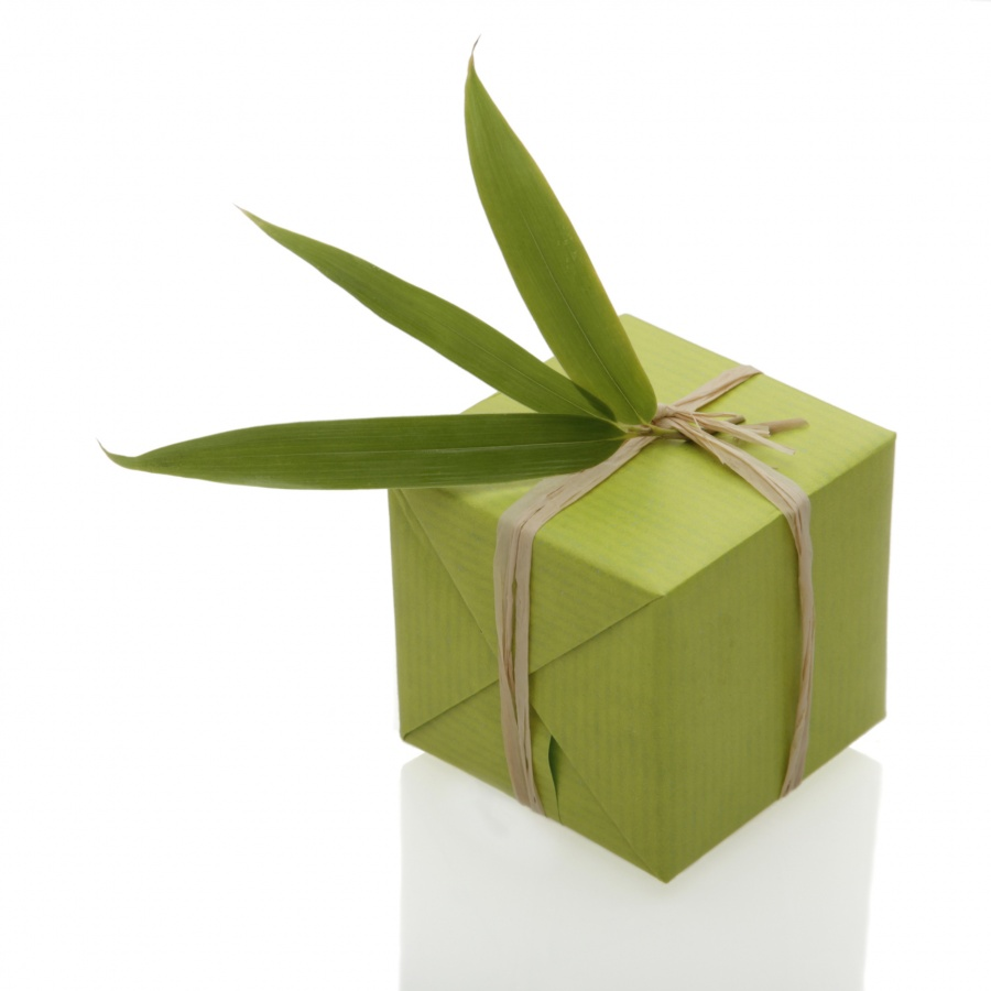 green 35 Creative and Simple Gift Wrapping Ideas
