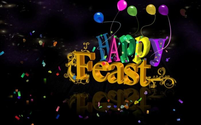 happy_feast_original 60 Best Greeting Cards for Eid al-Fitr
