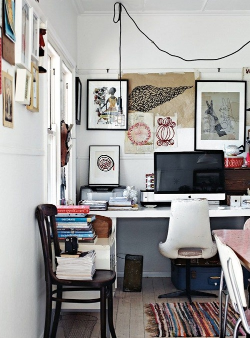 home-office-2 Modern And Stylish Designs Of Home Offices