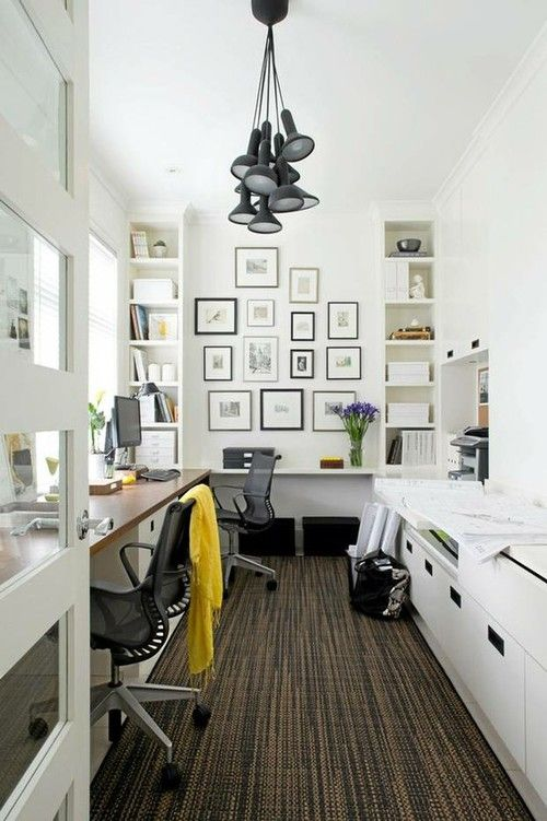 home-office-6 Modern And Stylish Designs Of Home Offices